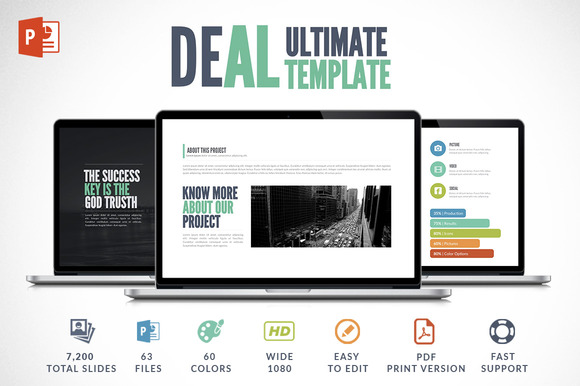 Deal Powerpoint Template