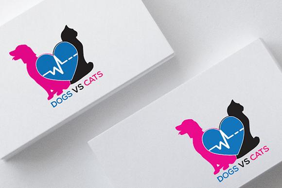 Pets DOGSVSCATS Logo