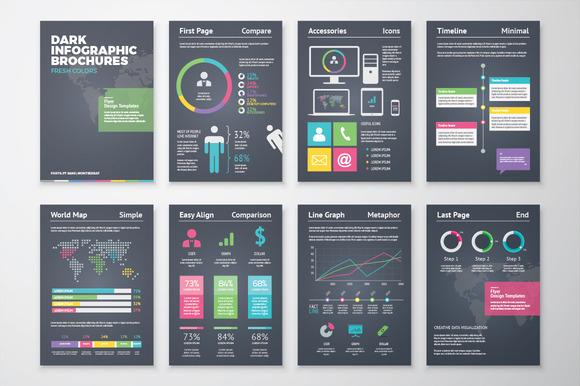 Infographic Brochure 2 Dark Version
