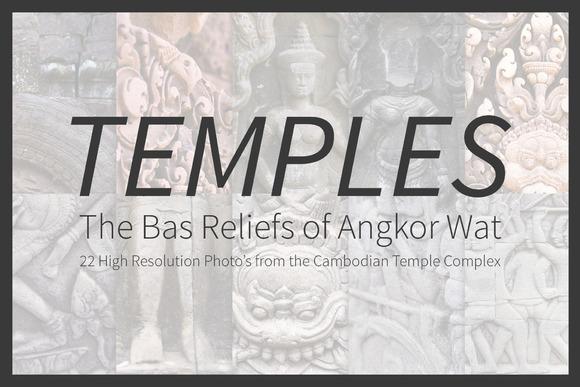Temple Bas Reliefs