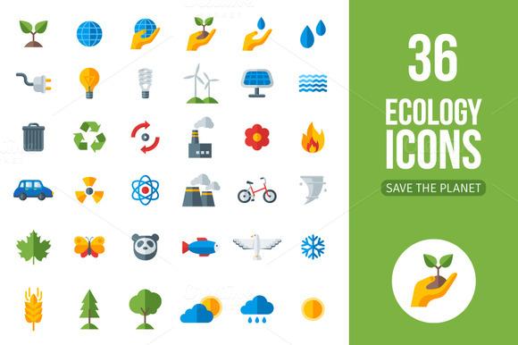 36 Eco Icons