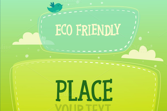 Ecology Signboard Background