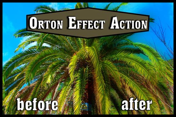 Photoshop Action Orton Effect