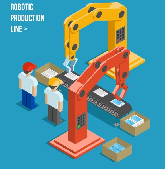Robotic Production Line