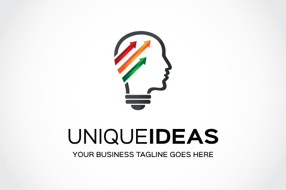 Unique Ideas Logo Template