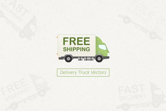 Delivery Truck Vectors