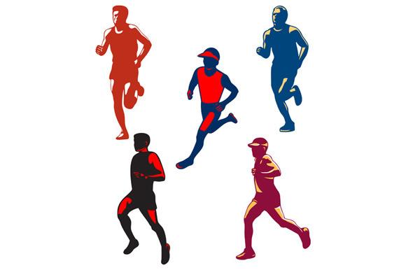Marathon Runner Retro Collection