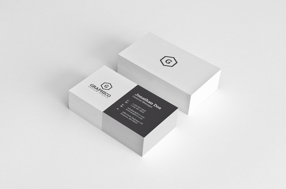 Simple Minimal Business Card 28