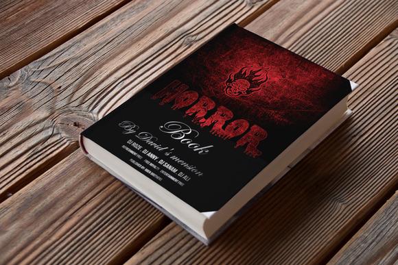 Horror Book Cover Vol-06