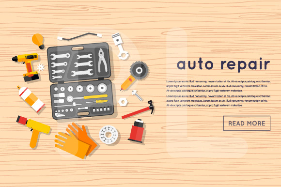 Auto Service Auto Mechanic Repair