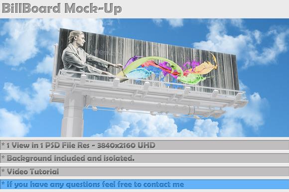 Billboard Mock-Up Vol 4