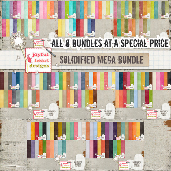 Solidified MEGA Bundle 50% Off