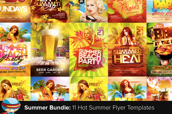 Flyerheroes Summer Flyer Bundle