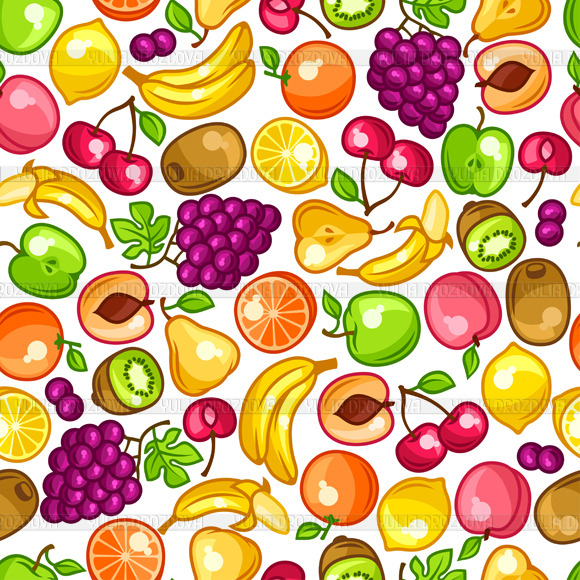 Patterns With Fruits