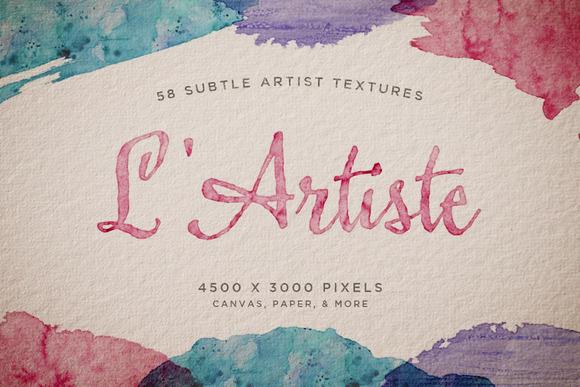 L Artiste Subtle Artist Textures 1