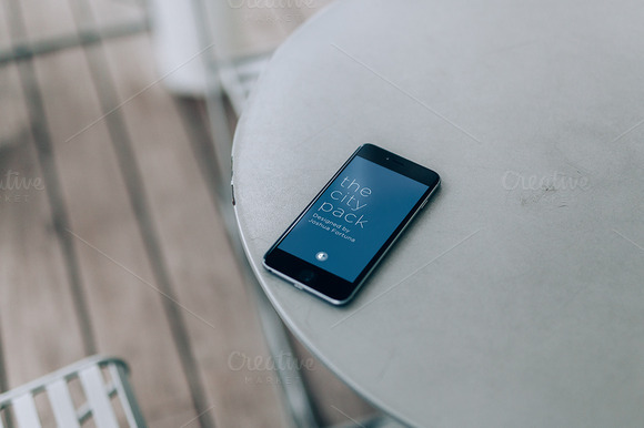 City Pack IPhone 6 Mockups