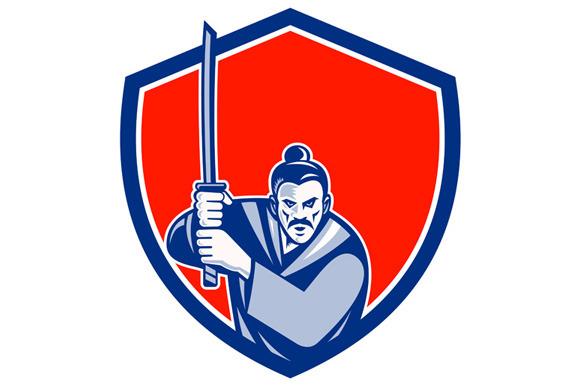 Samurai Warrior Katana Sword Shield