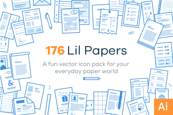Lil Papers 176 Paper Icons