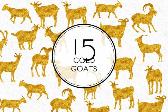 Gold Goats