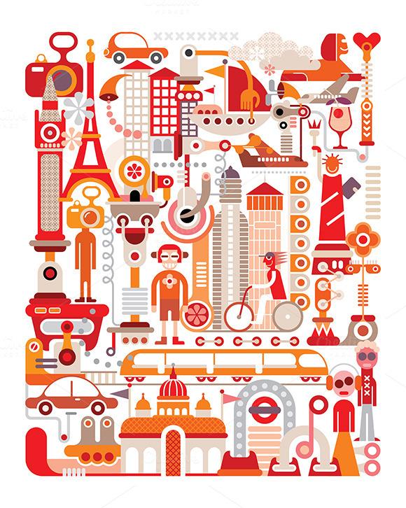 Travel Graphic Design