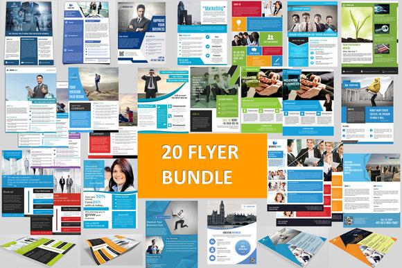 Corporate Flyer Big Bundle