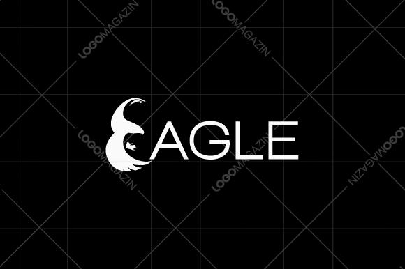 Eagle Letter E Logo