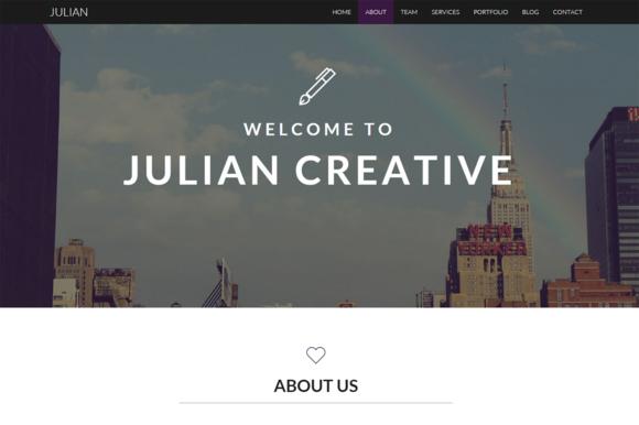 Julian Creative Business Template