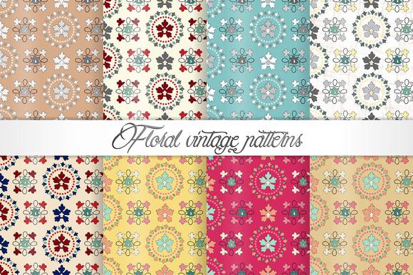Floral Vintage Patterns