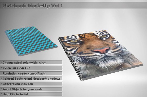 Notebook Mock-Up Vol 1