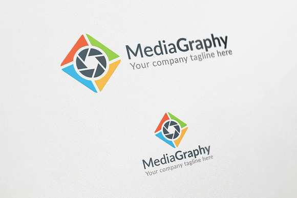 Media Graphy Logo Template