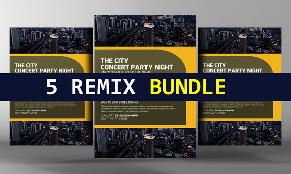 5 Remix Corporate Business Items