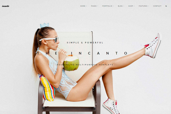 Incanto Multipurpose Template