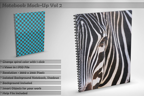 Notebook Mock-Up Vol 2