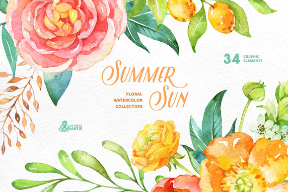 Summer Sun Floral Collection