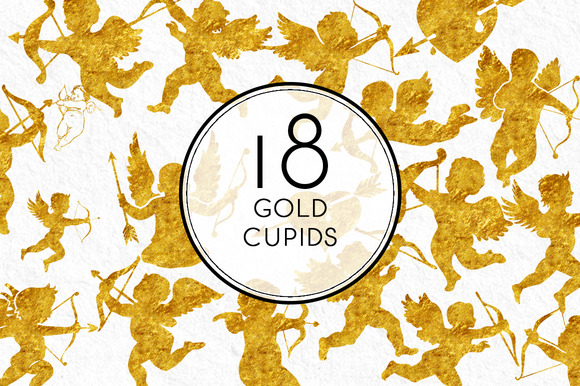 Gold Cupid Collection