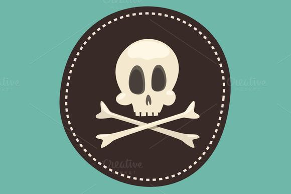Skull And Bones Pirate Icon