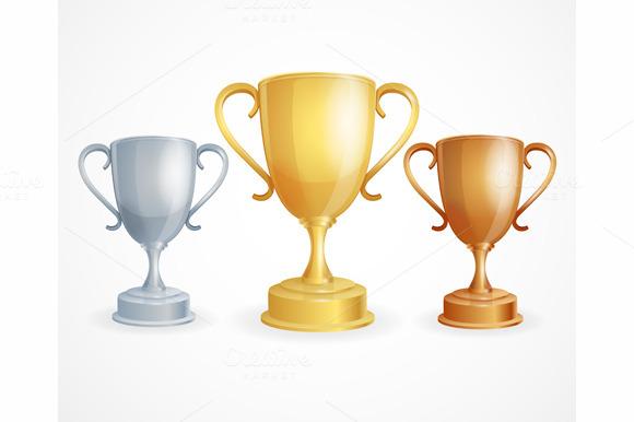 Vector Winner Cup Set