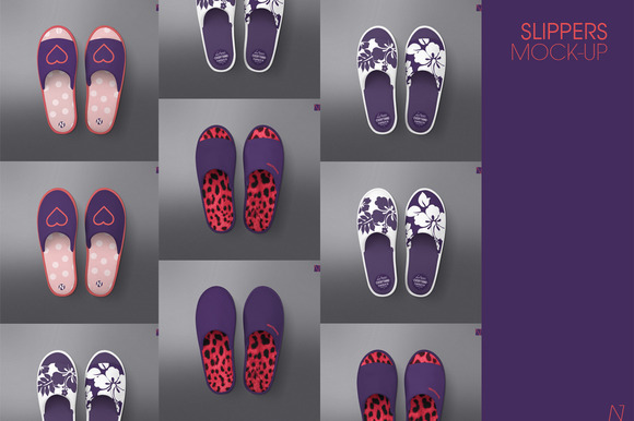 Slippers Mock-up