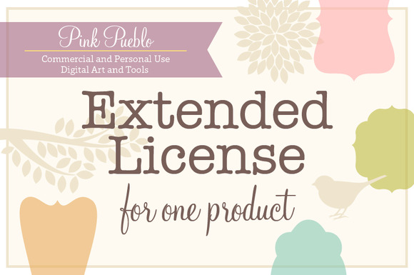 Extended Use License For Pink Pueblo