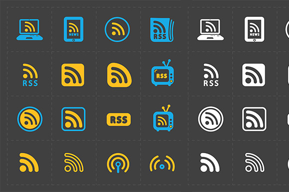 RSS Sign Icons