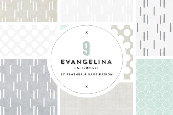 Evangelina Pattern Set