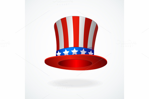 Uncle Sam S Hat Vector