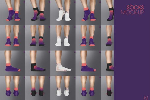 Socks Mock-up