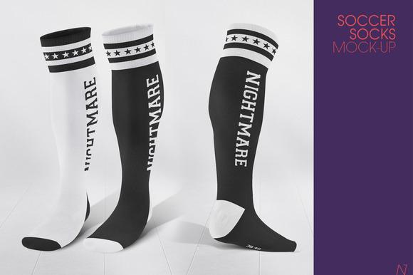 Soccer Socks Mock-up