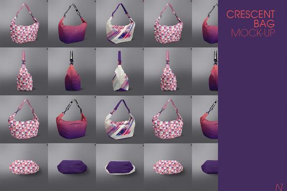 Crescent Bag Mock-up