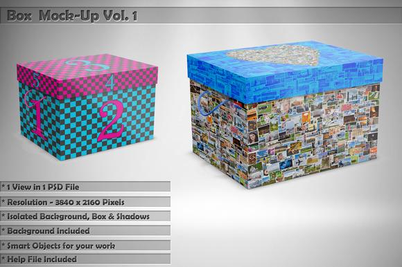 Box Mock-Up Vol 1