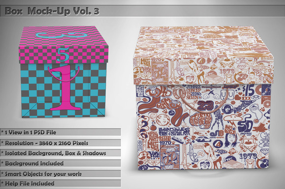Box Mock-Up Vol 3