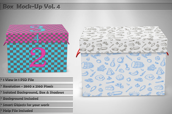 Box Mock-Up Vol 4