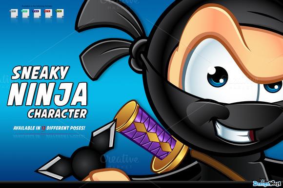 Sneaky Ninja Character