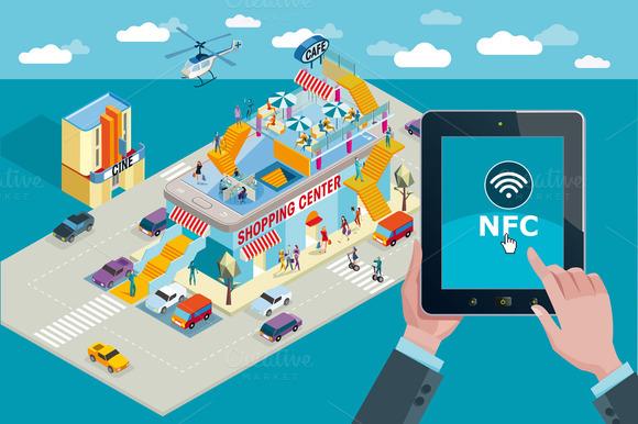 Shopping Center Payment NFC